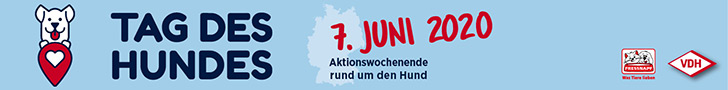 VDH - Tag des Hundes. Am 7. Juni 2020 wird der Tag des Hundes gefeiert.